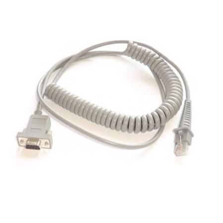 Datalogic RS232 Spiral-Anschlußkabel CAB-362