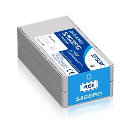 Patrone für Epson TM-C3500 (blau)
