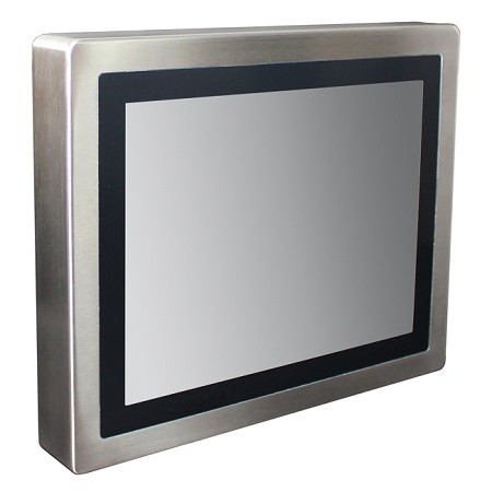 "Hematec Industrie-PC mit 15"" Display"