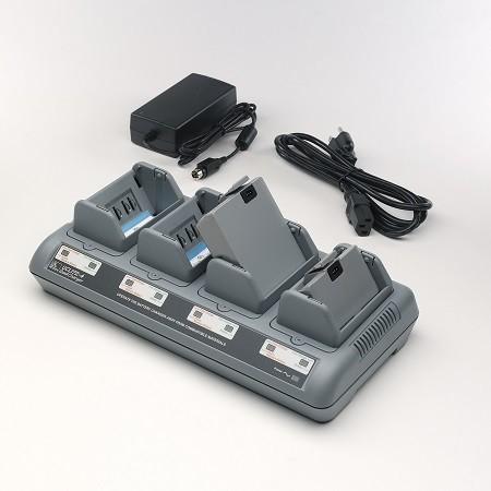 Zebra 4 fach Akku-Ladegerät für Mobile Drucker