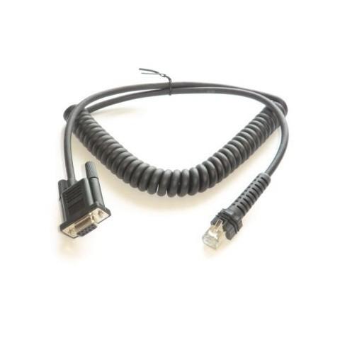Datalogic RS232 Spiral-Anschlußkabel CAB-434