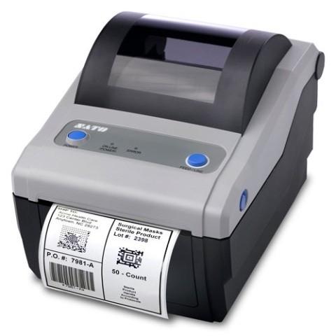 Sato CG412 Etikettendrucker