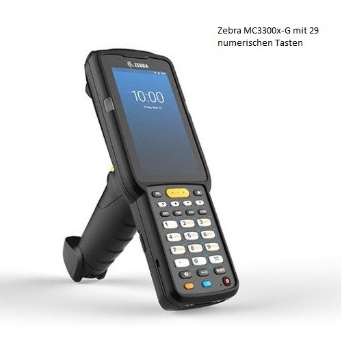 Zebra MC3300x-G Mobilterminal