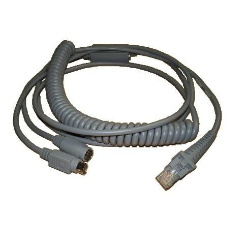 Datalogic PS/2 Spiral-Anschlußkabel CAB-391